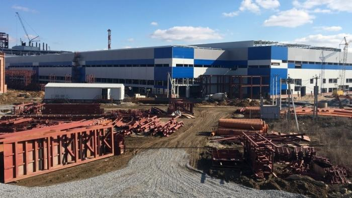 В Тульской области идёт строительство нового металлургического завода гиганта