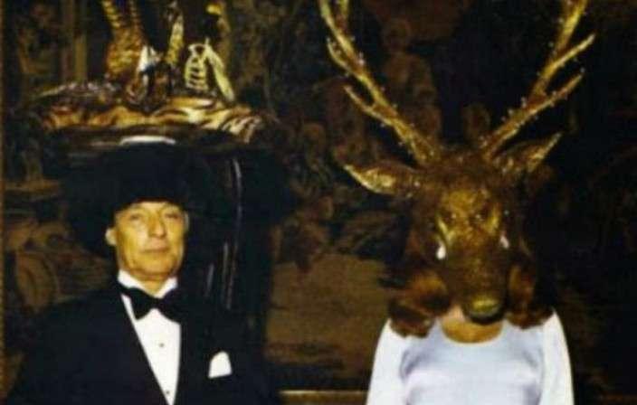Ротшильд: 20 фото с масонской вечеринки 1972 года, от которых мурашки по коже