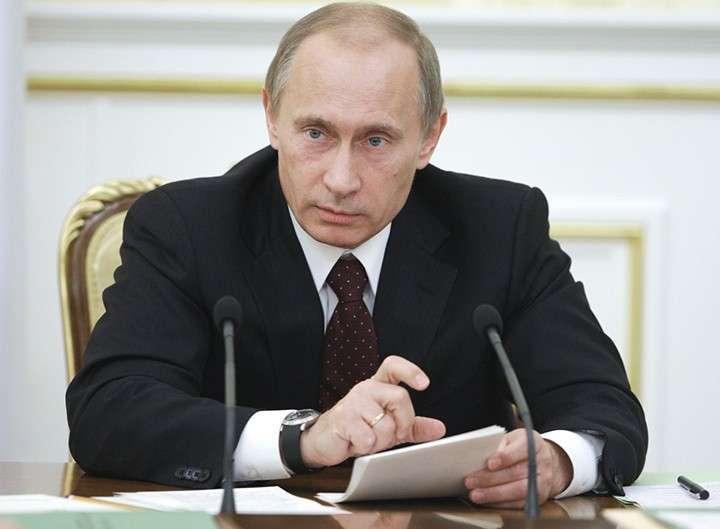 Президент России Владимир Путин обратился к ополчению Новороссии