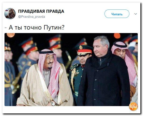 Юмор помогает нам пережить смуту: Саудита вам в ленту!