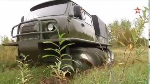 ВРоссии возобновлено производство уникальных винтовых вездеходов ЗВМ-2901