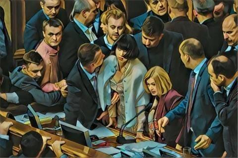 Рада Украины: о драме и балагане украинского жлобства