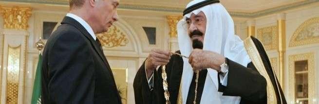 Истинная цель приезда Короля Саудовской Аравии