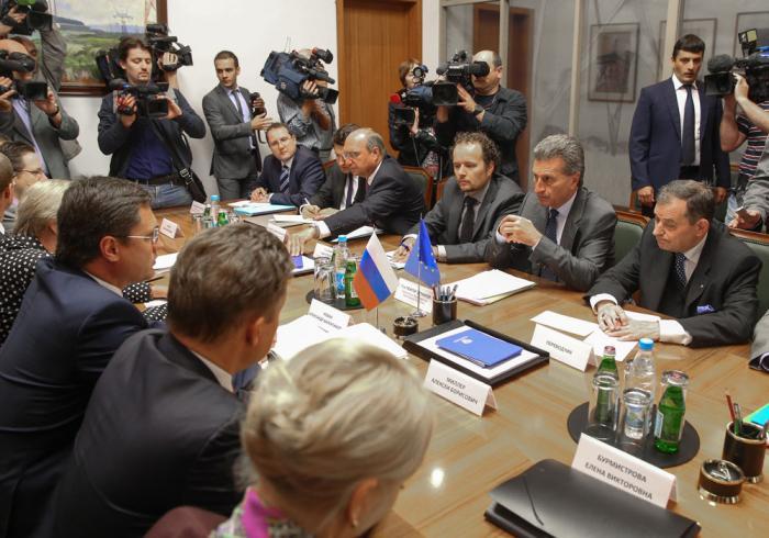 В Москве проходят газовые переговоры РФ и ЕС