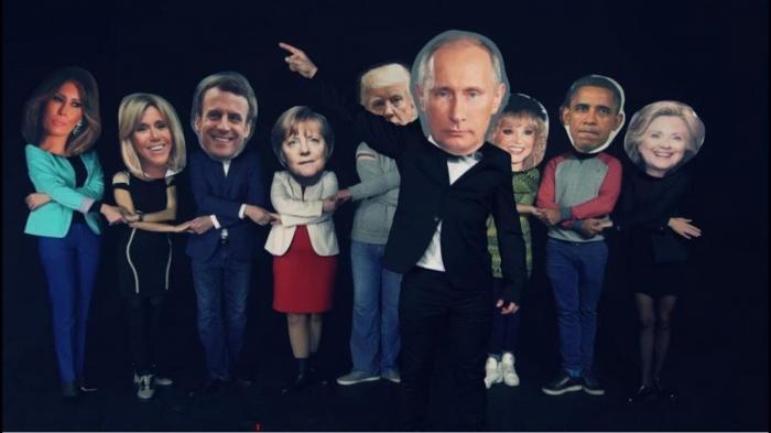 «Путин празднует. Меркель жжет» Видеоролик с поздравлением Путину покоряет YouTube