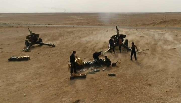 Сирийские войска окружили американских наёмников в Эль-Маядине