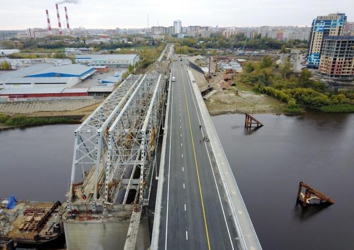 В Тюмени открыли новый мост через реку Туру