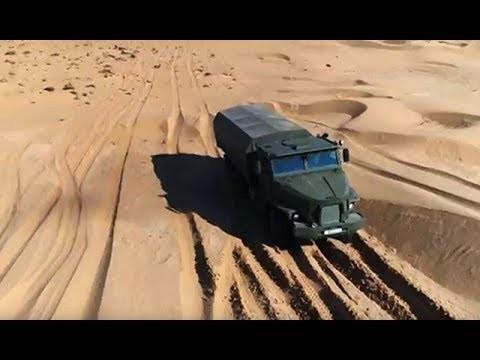 На колесах в броне по пескам Волги. Военная приемка, часть 2