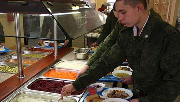 В армии нашли способ экономить на питании сотни миллионов рублей: еда по отпечатку пальца