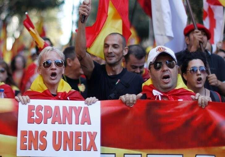 Испания едина! Фото: REUTERS