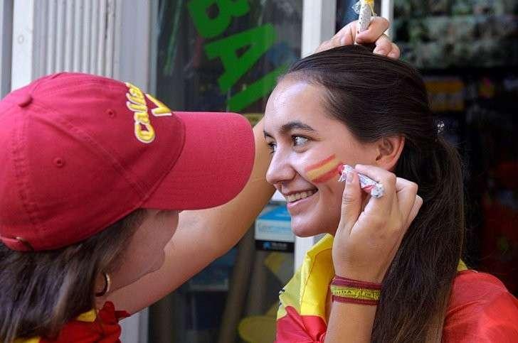 У единой Испании нашлось много сторонников Фото: REUTERS