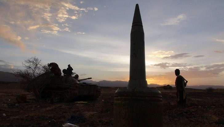 Йемен ударил баллистической ракетой по Саудовской Аравии
