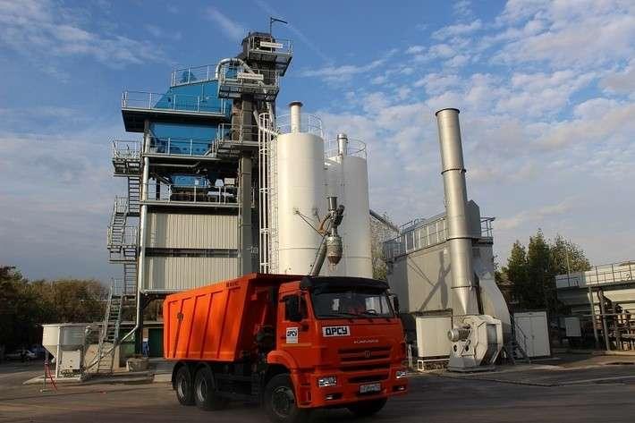 Экологичный завод попроизводству асфальтобетона открыт вРостове