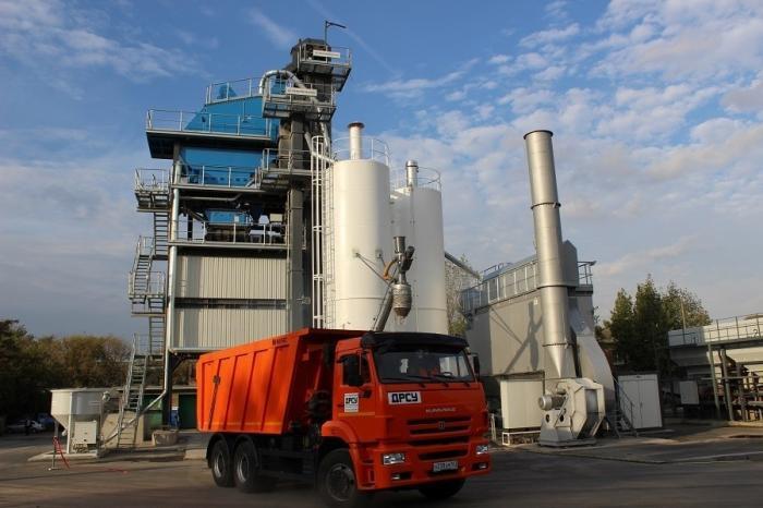 Ростов: экологичный завод попроизводству асфальтобетона открыт