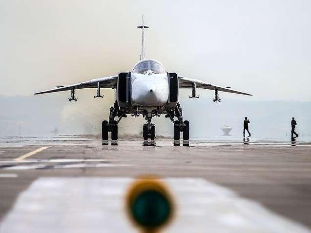 Сирия: разбился российский Су-24, погибли пилоты