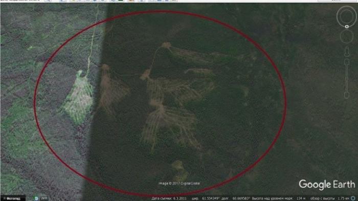 Перевал Дятлова, обнаружены гигантские сооружения каменного века
