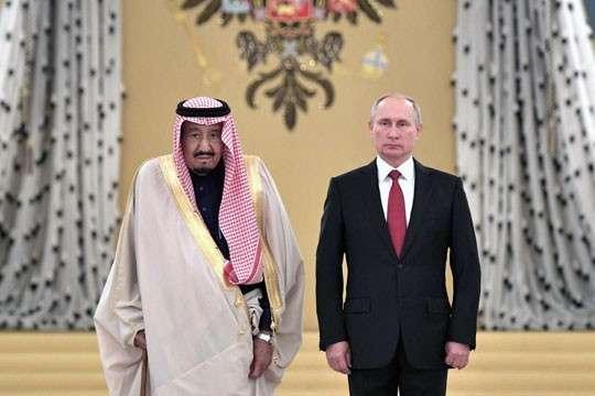 Cаудовская Аравия видит в России гаранта суверенитета