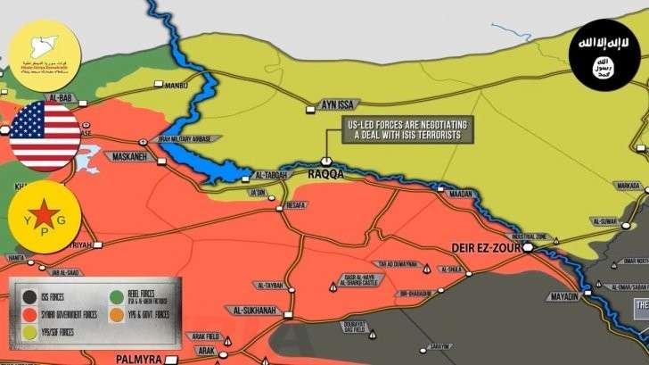 Сирия: коалиция США и карманный ИГИЛ «спелись»