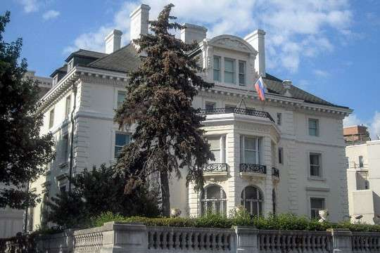 Госдеп не ответил зачем сняли флаги с торгпредства России в Вашингтоне
