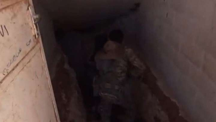 В Сирии обнаружена целая сеть подземных туннелей американских наёмников