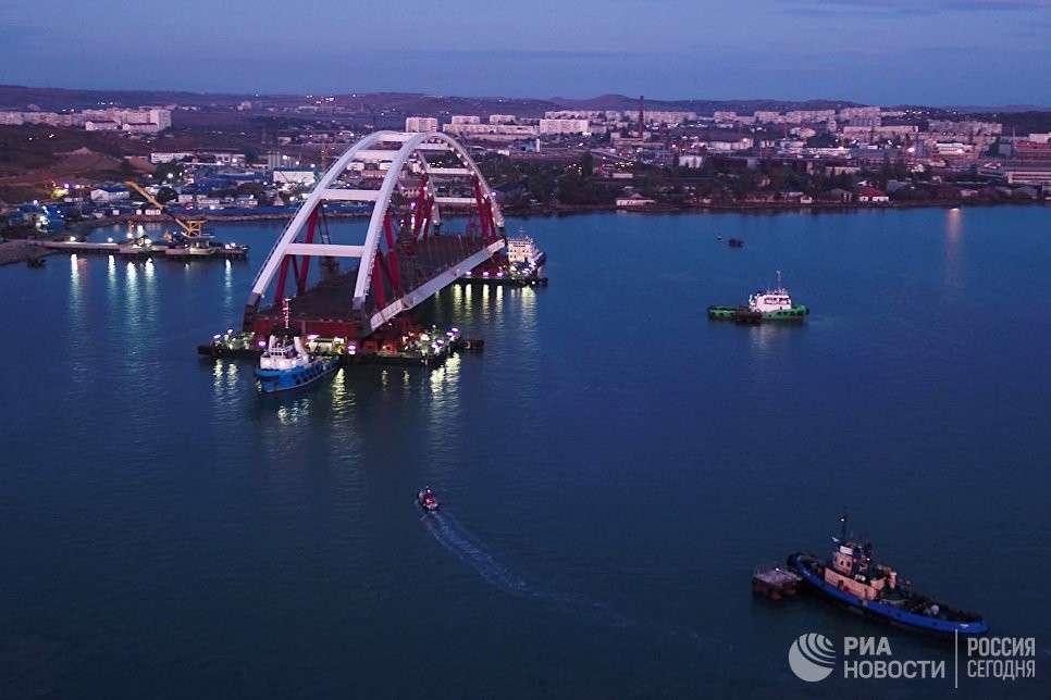 «Русские скрепы» в технологиях Керченского моста