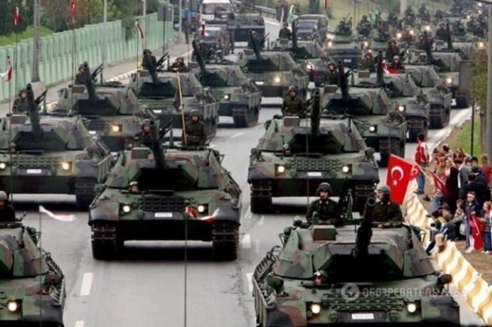 Войска Турции вторглись в сирийскую провинцию Идлиб