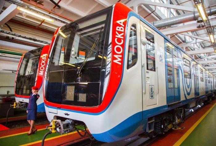 Метро: два поезда «Москва» вышли наТаганско-Краснопресненскую ветку