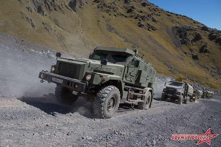Успешно завершились испытания военной техники наЭльбрусе
