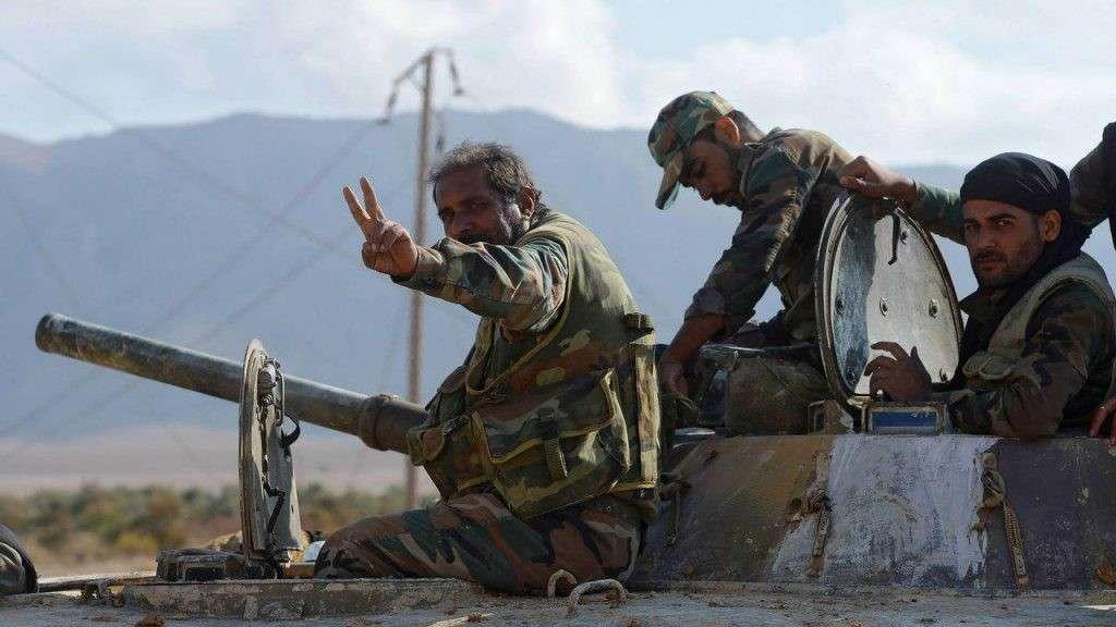 Армия Сирии при поддержке ВКС России полностью окружила американских наёмников в Меядине