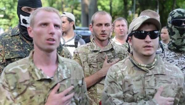 Карательные батальоны готовятся к войне. С Киевом!