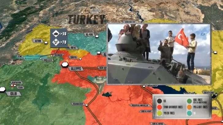 Сирия: Турция закрепляется в Идлибе, курды готовятся к отпору