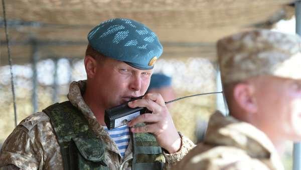 Учения КСОР ОДКБ Взаимодействие - 2014 на полигоне Спасск