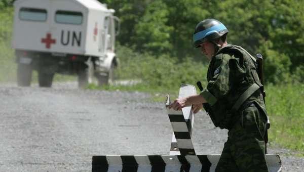 Российские миротворцы в Абхазии