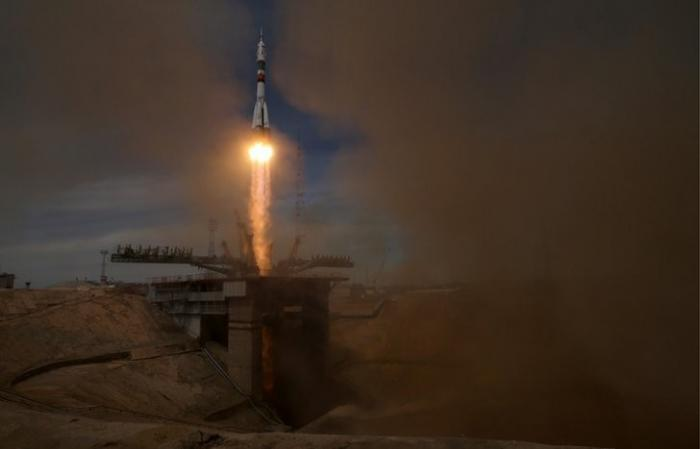 Казахстан: ракета Союз с кораблем Прогресс стартовала с Байконура