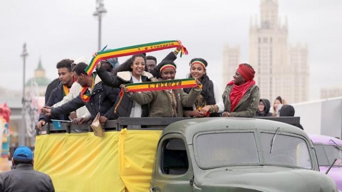 В Москве начался карнавал Всемирного фестиваля молодёжи и студентов