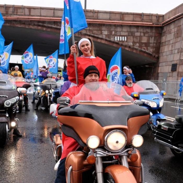 В Москве прошёл парад-карнавал в честь открытия XIX Фестиваля молодёжи и студентов