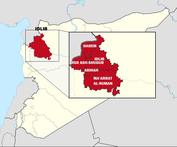 Власти Сирии потребовали немедленного вывода турецких войск из провинции Идлиб