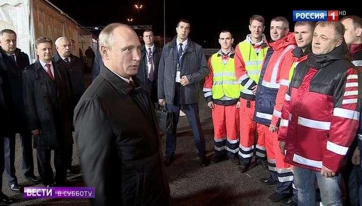 Под Питером открыли дорогу, важную для России и ЕС