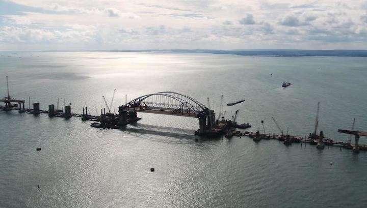 """Крымский мост: """"триумфальная арка"""". Специальный репортаж"""