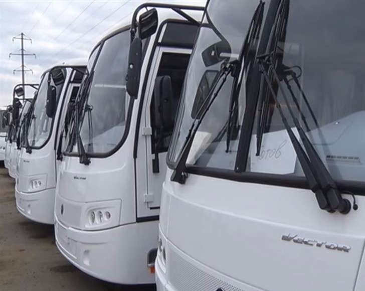 Первая партия новых автобусов для муниципальных пассажирских предприятий прибыла вОмск