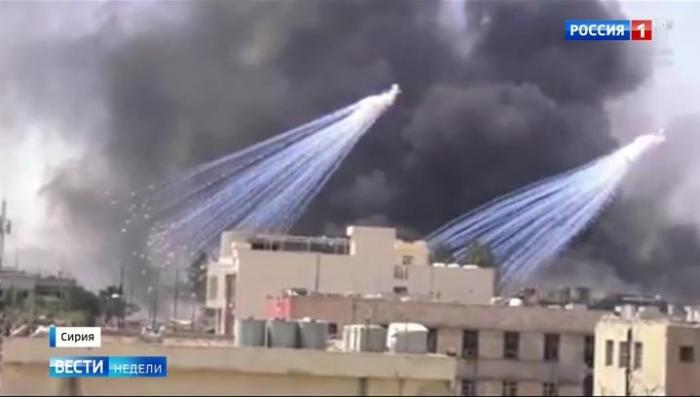 Американские террористы практически стерли Ракку с лица земли
