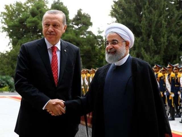 Реджеп Тайип Эрдоган и Хасан Рухани