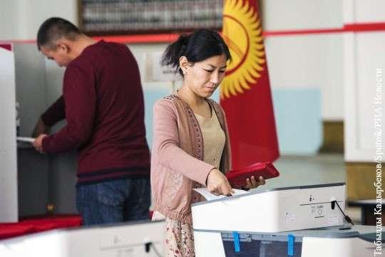 Киргизия: выборы президента признали конкурентными и прозрачными