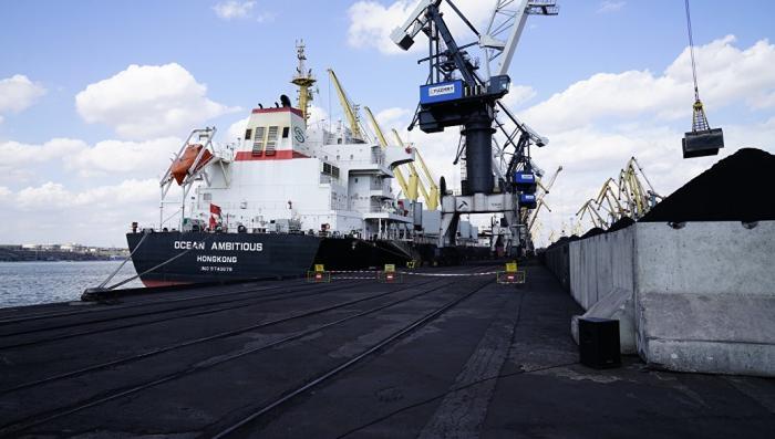 Одесса: судно Конкистадор под флагом Мальты врезалось в причал