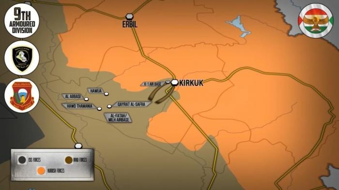 Ирак: операция правительства против курдов в Киркуке