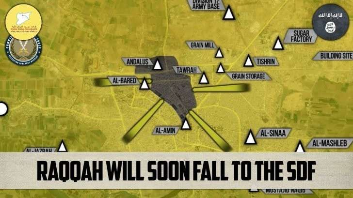 Сирия: Курды (СДС) договорились с ИГИЛ. Обе организации спонсируются США
