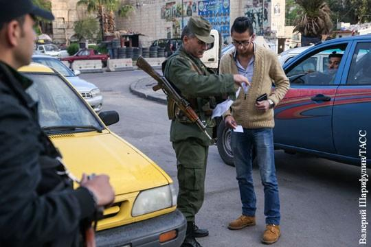 Сирия: началось выявление бандподполья игиловцев в тылу правительственной армии