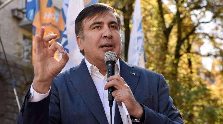 Киев: Саакашвили на митинге потребовал от Вальцмана уйти в отставку