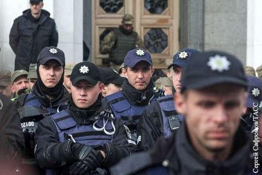 Киев: начались столкновения между полицией хунты и хомячками Саакашвили