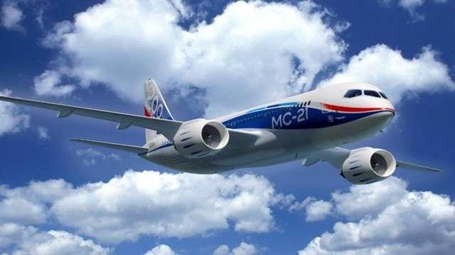 Российский лайнер МС-21 совершил первый дальний перелёт